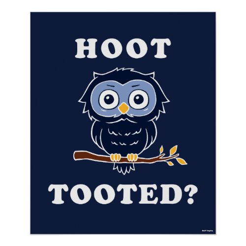 Hoot Tooted? Poster