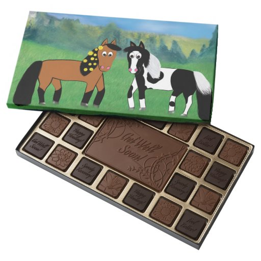 Horse Birthday Gift Chocolates