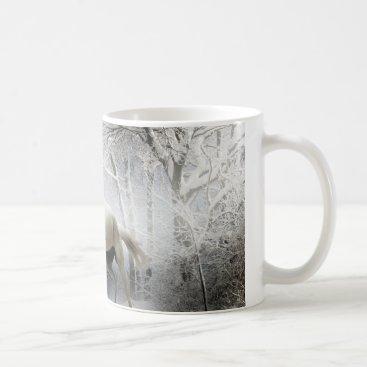 Horse Snow Forest coffee Pets Coffee Mug