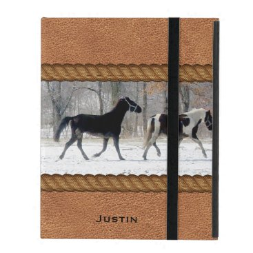 Horses Custom iPad Case