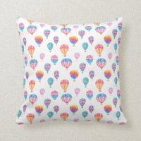 Hot Air Balloon Pillows - Decorative & Throw Pillows | Zazzle