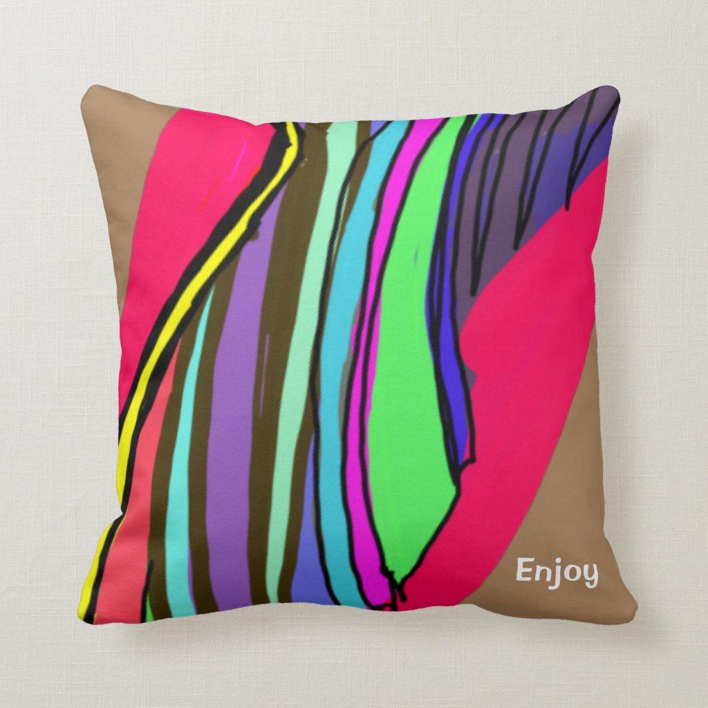 Hot Design Throw Pillow