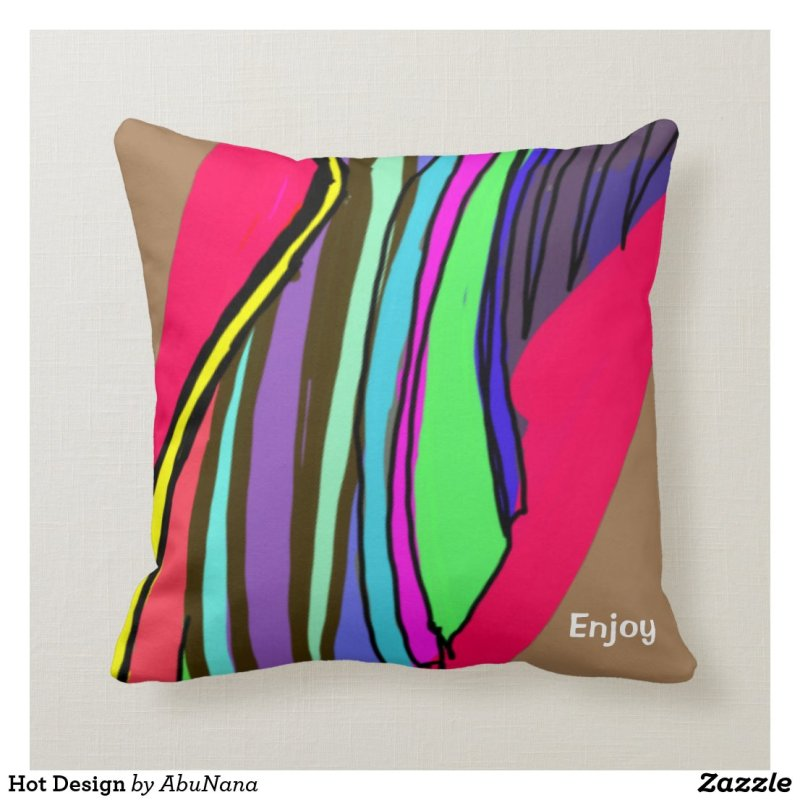 Hot Design Throw Pillow