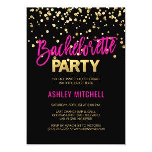 bachelorette party invitations zazzle