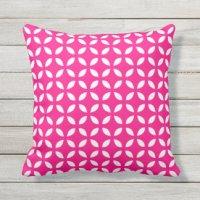 Hot Pink Pillows - Decorative & Throw Pillows   Zazzle