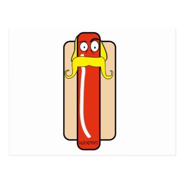 Hotdog Hulk Hogan Postcard