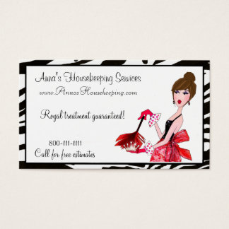 House Cleaning Business Cards & Templates Zazzle