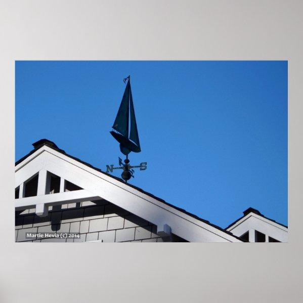 House Sailboat Vane II