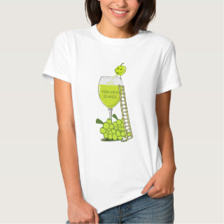 How Wine is Made Funny Illustration T Shirt