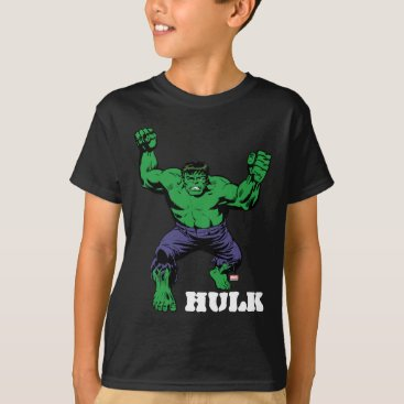 Hulk Retro Arms T-Shirt