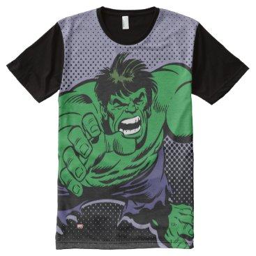 Hulk Retro Dive All-Over-Print Shirt