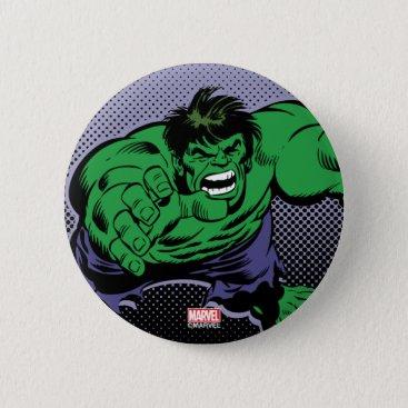 Hulk Retro Dive Pinback Button