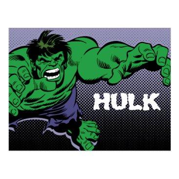 Hulk Retro Dive Postcard