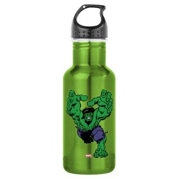 Hulk Retro Grab Water Bottle