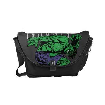 Hulk Retro Lift Small Messenger Bag