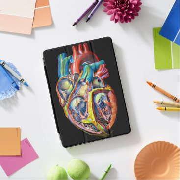 human heart biology anatomy abstract art iPad pro cover