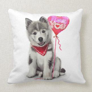 Husky Pillows  Decorative  Throw Pillows  Zazzle