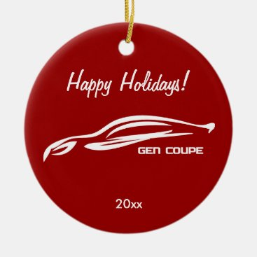 Hyundai Genesis Coupe Ceramic Ornament