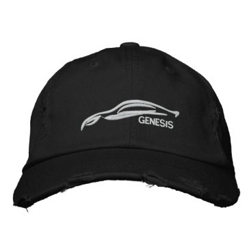 Hyundai Genesis Coupe Embroidered Baseball Cap