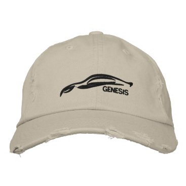 Hyundai Genesis Coupe Embroidered Baseball Hat