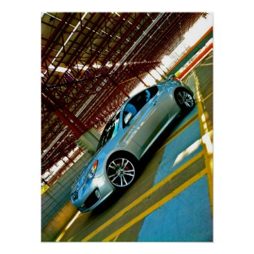 Hyundai Genesis Coupe Wall Poster