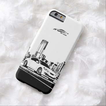 Hyundai Genesis Coupe with City Backdrop Barely There iPhone 6 Case