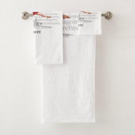 I Am A Dancer Bath Towel Set