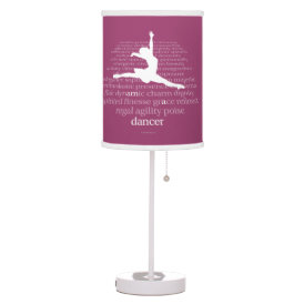 I Am A Dancer Desk Lamp