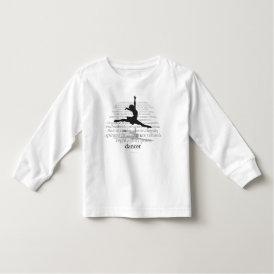 I Am A Dancer Toddler T-shirt