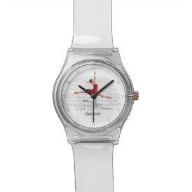 I Am A Dancer Wrist Watch
