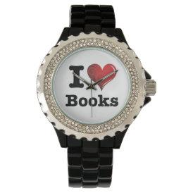 I heart books Swirly Curlique Heart 02 FADE 4000x4 Watch