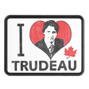 I Heart Trudeau Hitch Covers