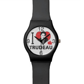 I Heart Trudeau Watches