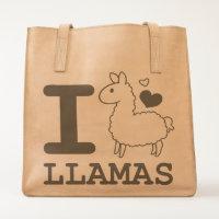 I Llama Llamas Tote