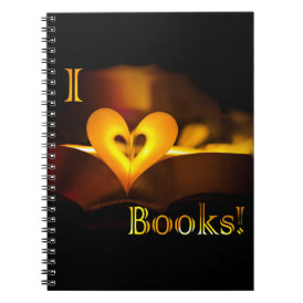 I Love Books - I 'Heart' Books (Candlelight)