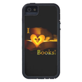 I Love Books - I 'Heart' Books (Candlelight) iPhone SE/5/5s Case