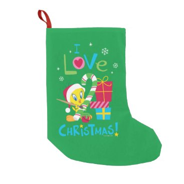 I Love Christmas - TWEETY™ Small Christmas Stocking