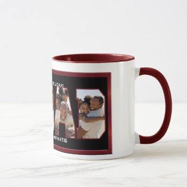 I Love Dad Photo Mug