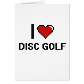 Love Disc Golf Cards, Love Disc Golf Card Templates