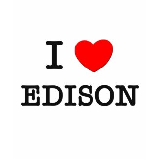 I Love Edison shirt