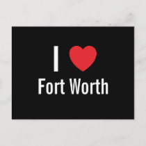 Fort Worth postcard