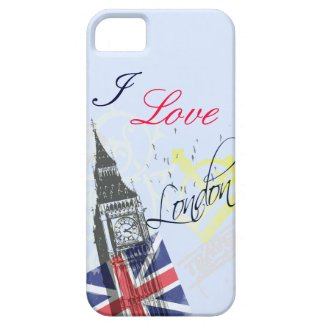 I love London iPhone5 cases