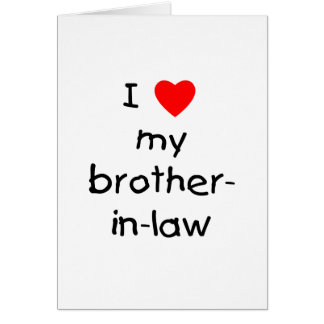 Brother In Law Cards, Brother In Law Card Templates