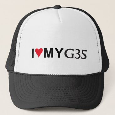 I Love my G35 Baseball Cap