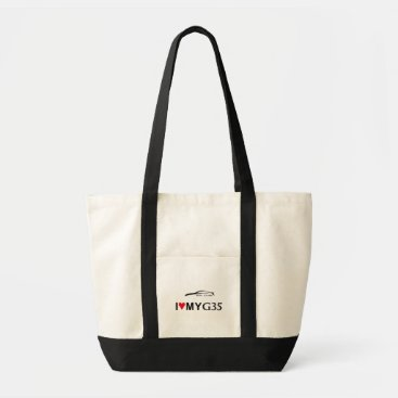 I love my G35 Coupe Acccessory Tote Bag