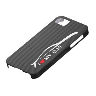 I Love My G35 iPhone SE/5/5s Case