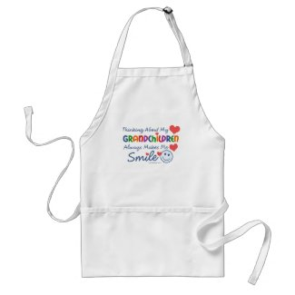 I Love My Grandchildren Aprons