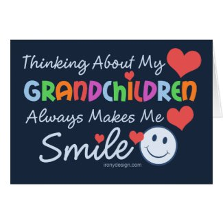I Love My Grandchildren Greeting Cards