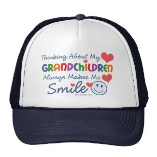 I Love My Grandchildren Hats