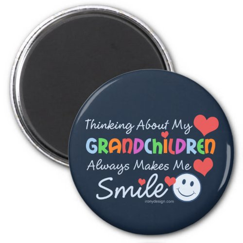 I Love My Grandchildren Magnet